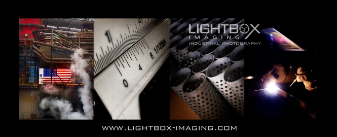 Light-box imaging industrial photography