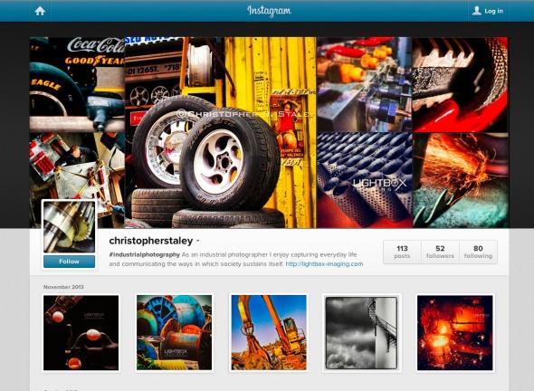 #industrialphotographyInstagram