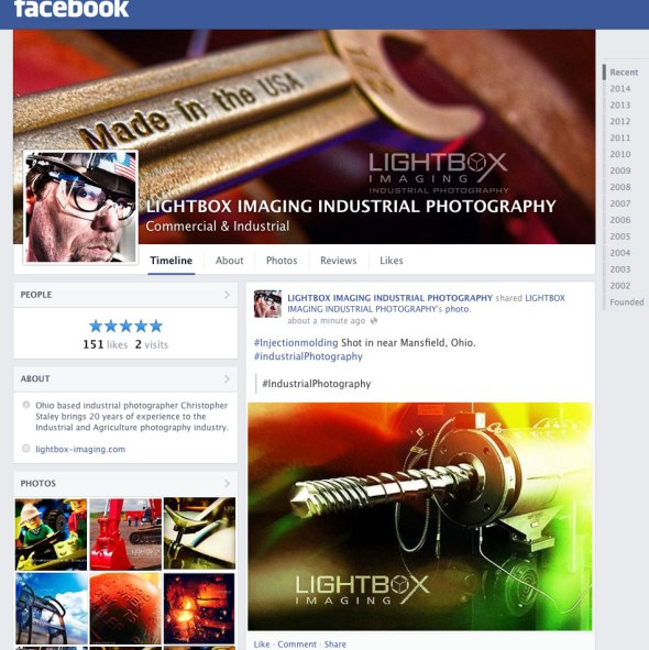 #industrialPhotographerFC